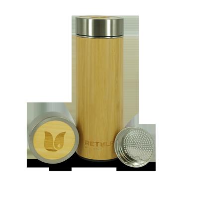 RVS Bio Bamboe Thermosbeker - Retulp