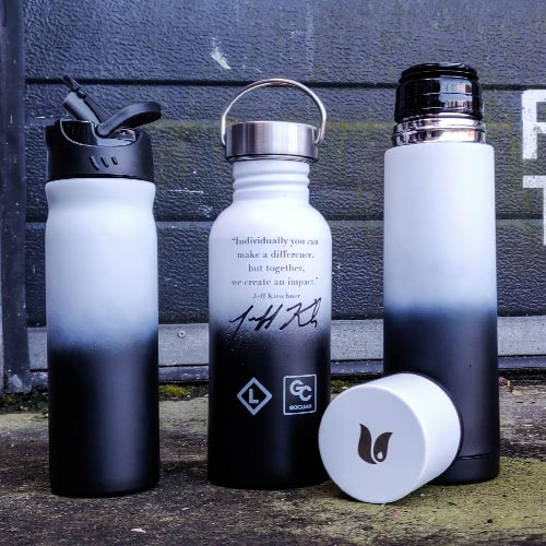 Retulp bedrukte flessen fusions Jeff Kirschner