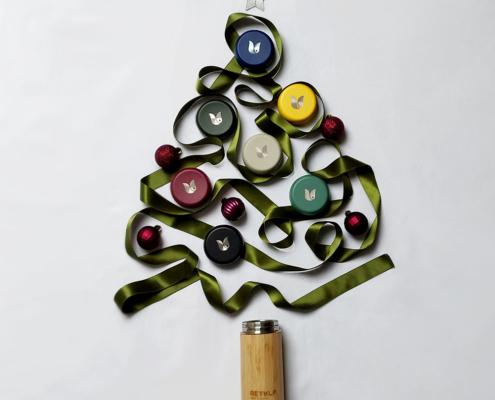 Retulp kerstboom