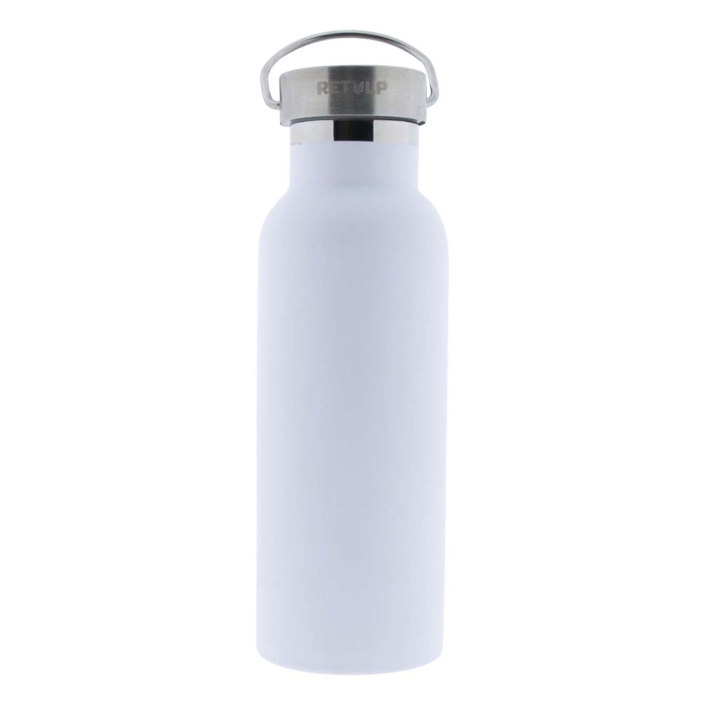 Retulp Urban 500ml thermosfles Chalk White graveren