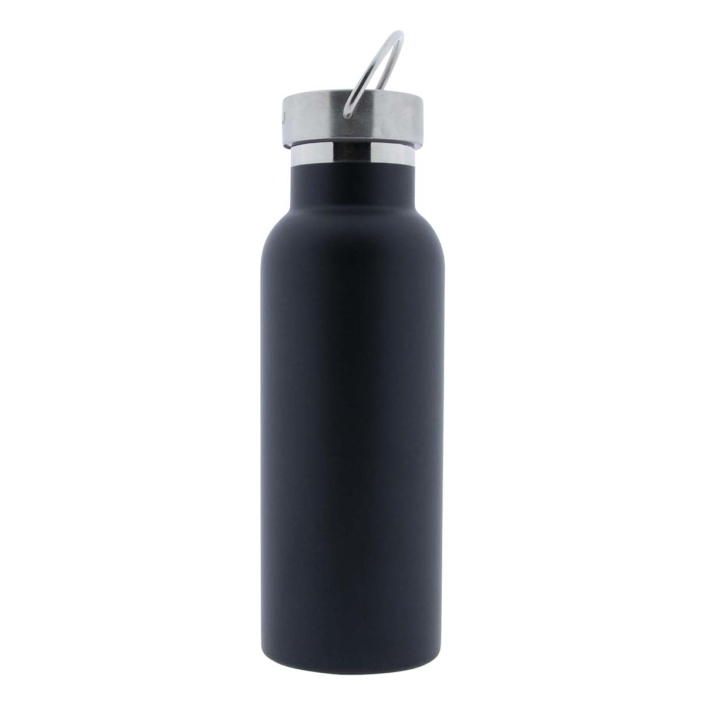 Retulp Urban 500ml thermosfles Night Black graveren