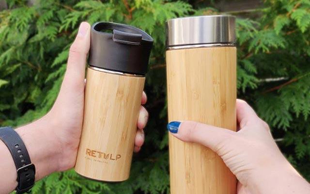 Bambu Tumbler klein en groot