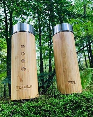 FRÉ-Music - Bambu Tumbler graveren sfeer