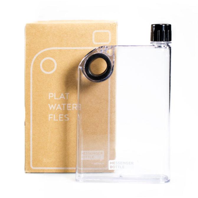 Messenger bottle zwart - Retulp