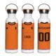 EK fles met naam en logo
