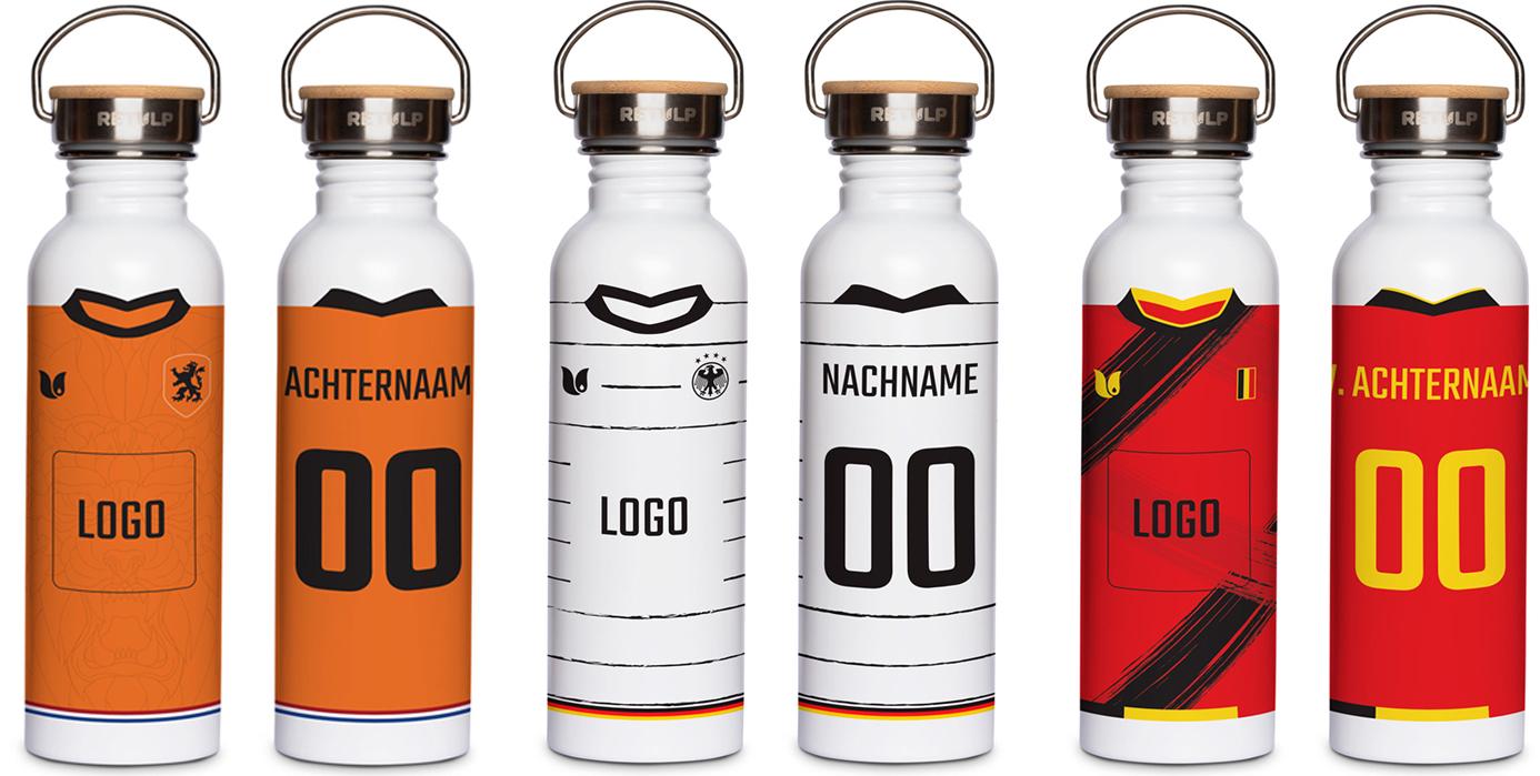 EK gepersonaliseerde fles