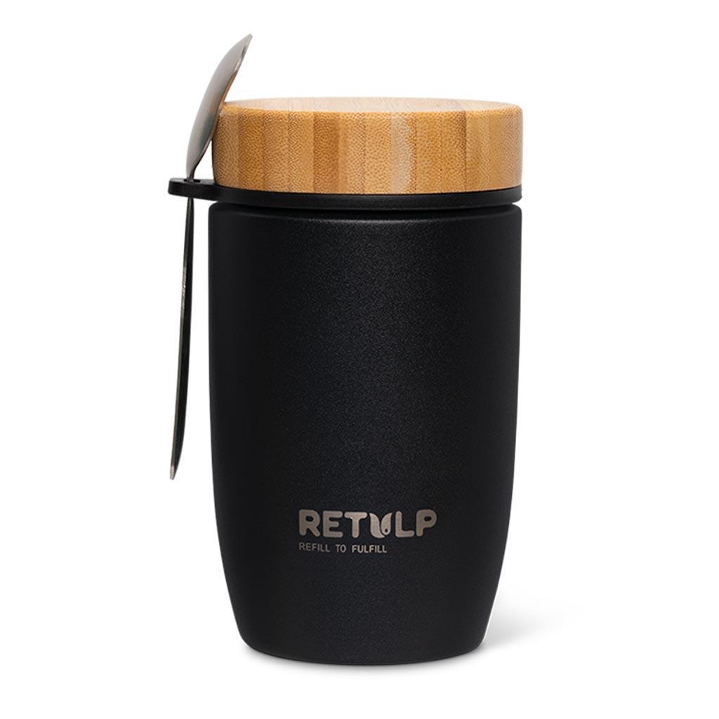Big Mug lunchpod 500ml night black - Retulp