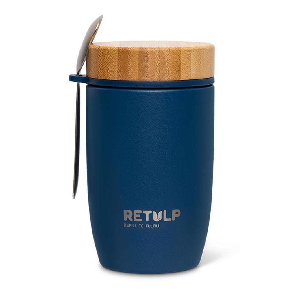 Big Mug lunchpod 500ml Ocean blue - Retulp