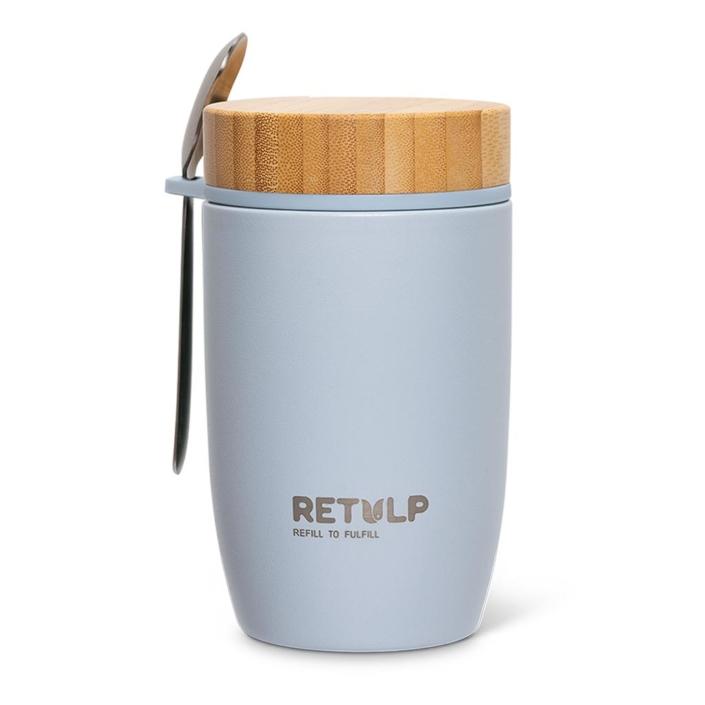 Big Mug lunchpod 500ml grey - Retulp
