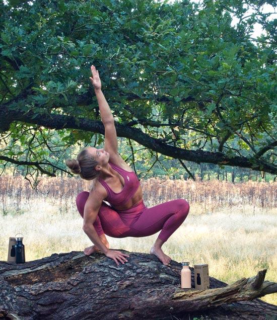 Retulp yoga flessen festival